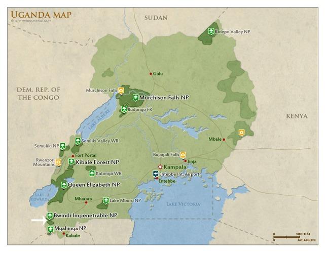 map-bwindi-national-park