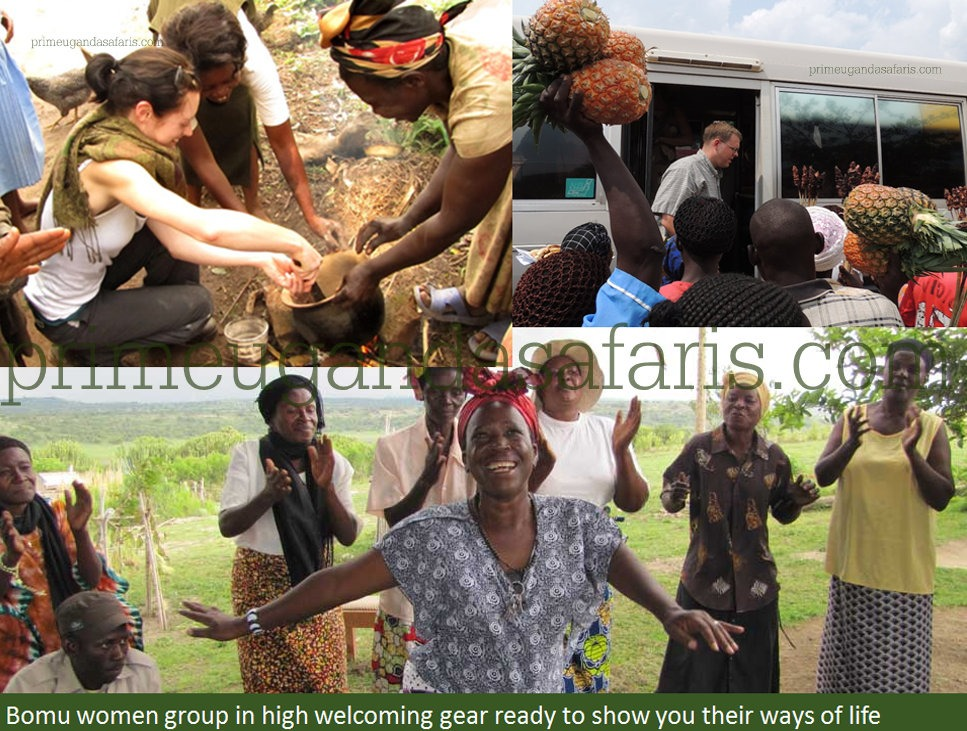 cultural encounter at Murchison falls