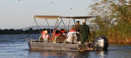 Boat trips Akagera National Park