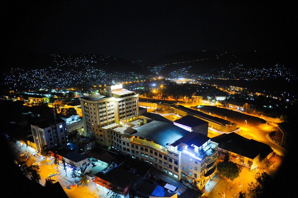Kigali City at Night