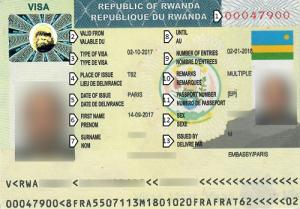 Rwanda's new visa policy